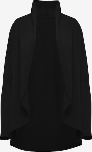 TALENCE Gebreid vest in de kleur Zwart: Vooraanzicht