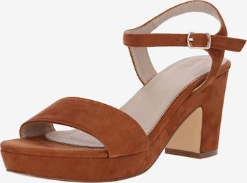 Sandales 'Elea' ABOUT YOU en marron