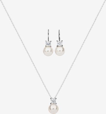 Nenalina Jewelry Set 'Perle' in Silver