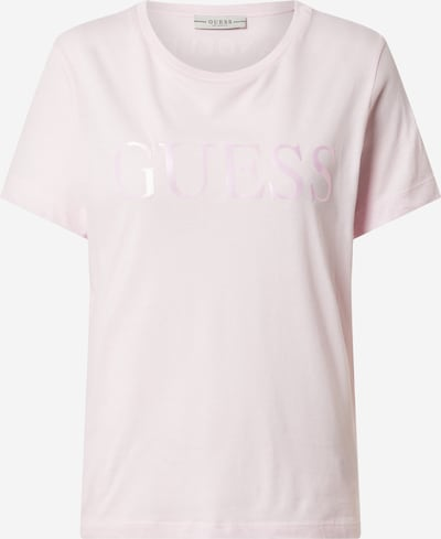 GUESS T-shirt en rose, Vue avec produit