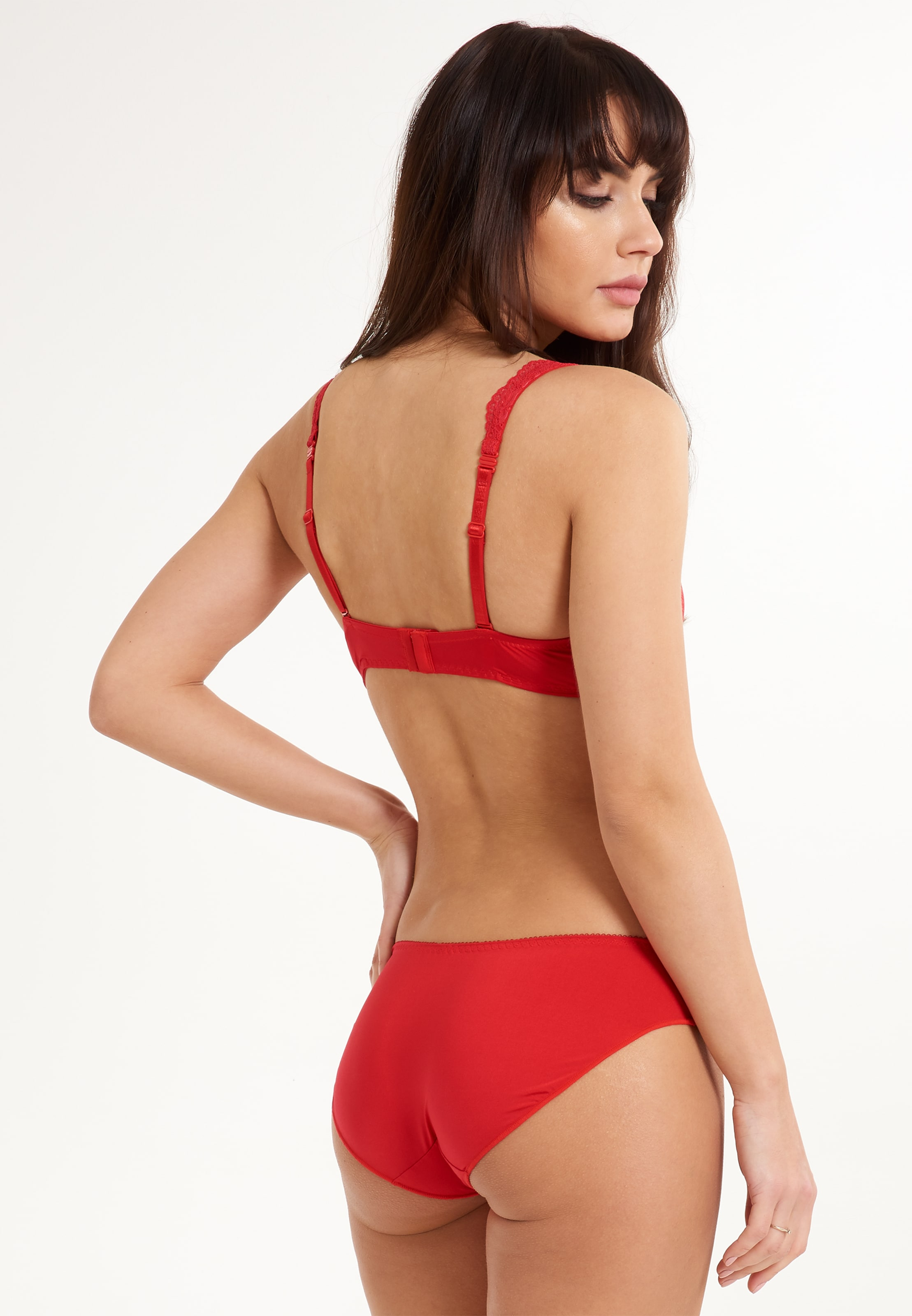 Slip Lace' Lingadore In 'daily Rot E2I9DWHY