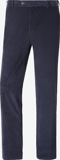 Charles Colby Bandplooibroek 'Earl Norton' in de kleur Donkerblauw, Productweergave