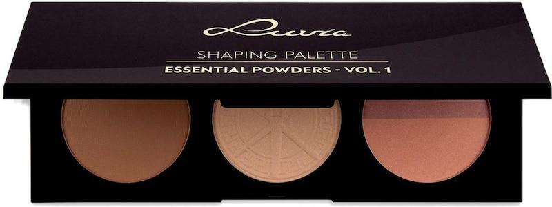 Palette De Modelage De Luvia Cosmetics - Poudres Essentielles Vol.1 , Vegane 3 En 1 Palette