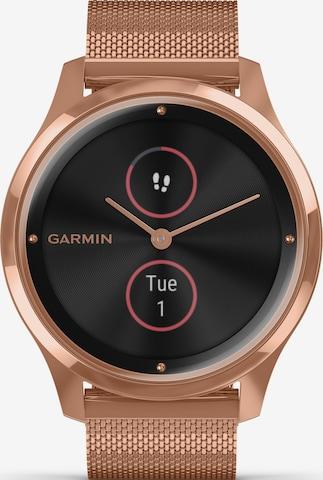 GARMIN Uhr 'Vivomove  Luxe' in Gold