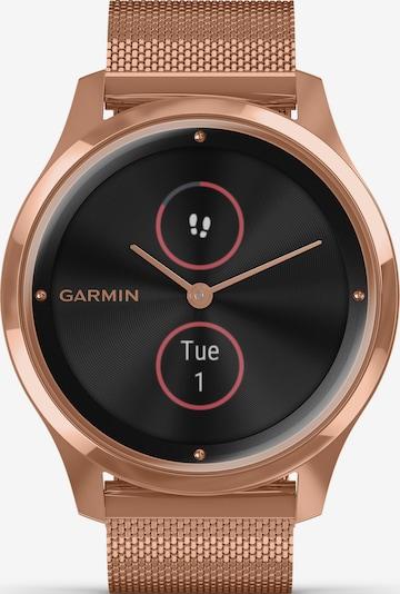GARMIN Uhr in rosegold / schwarz, Produktansicht