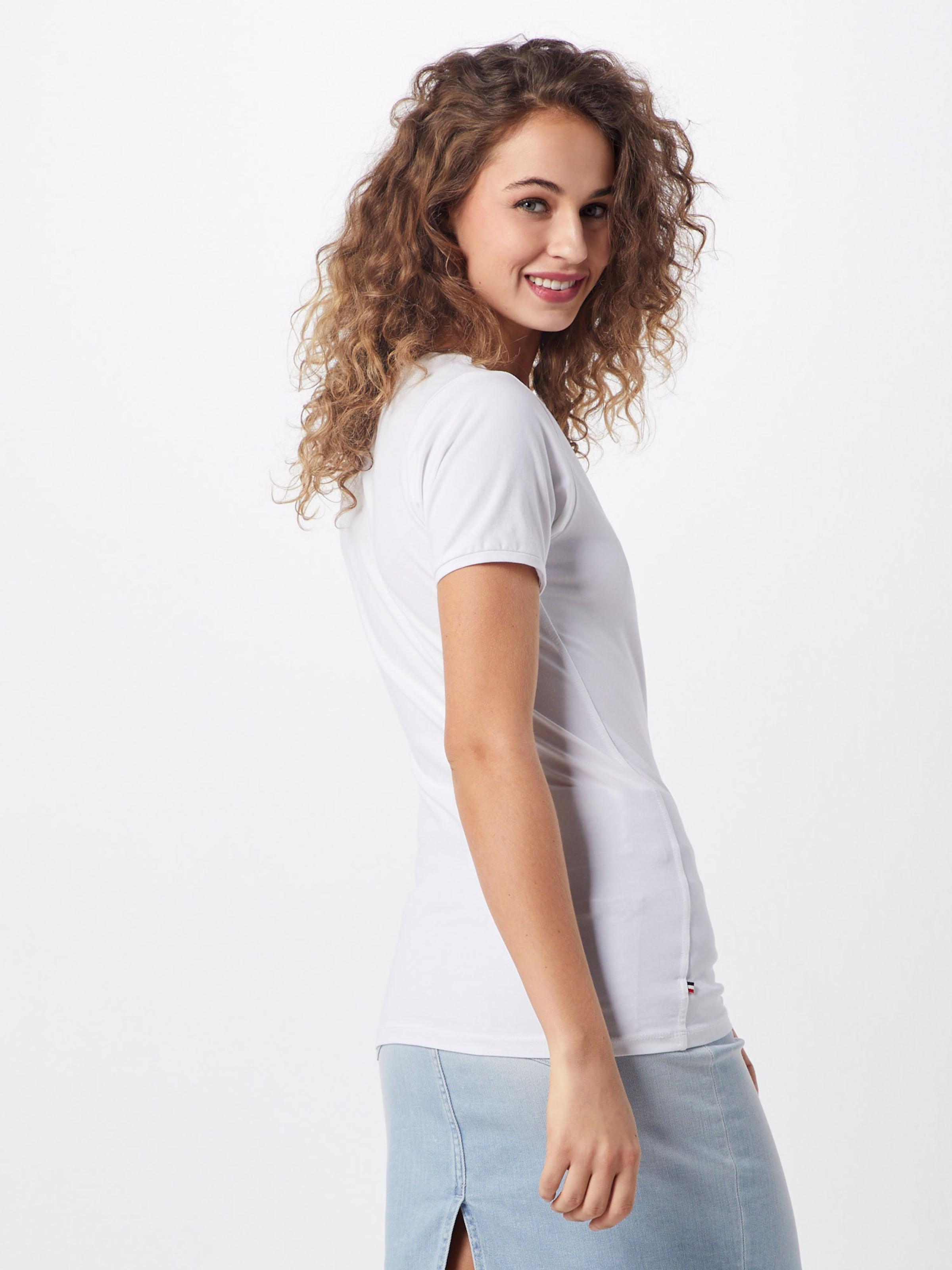 In Jeans Shirt Tommy BlauRot Weiß wO8nkXN0P