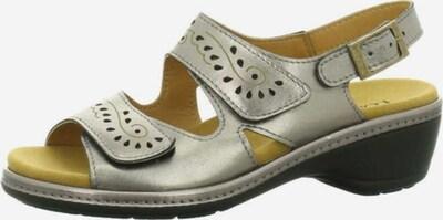 Longo Sandale in silbergrau, Produktansicht