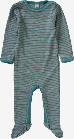 ENGEL Schlafanzug in türkis / grau, Produktansicht