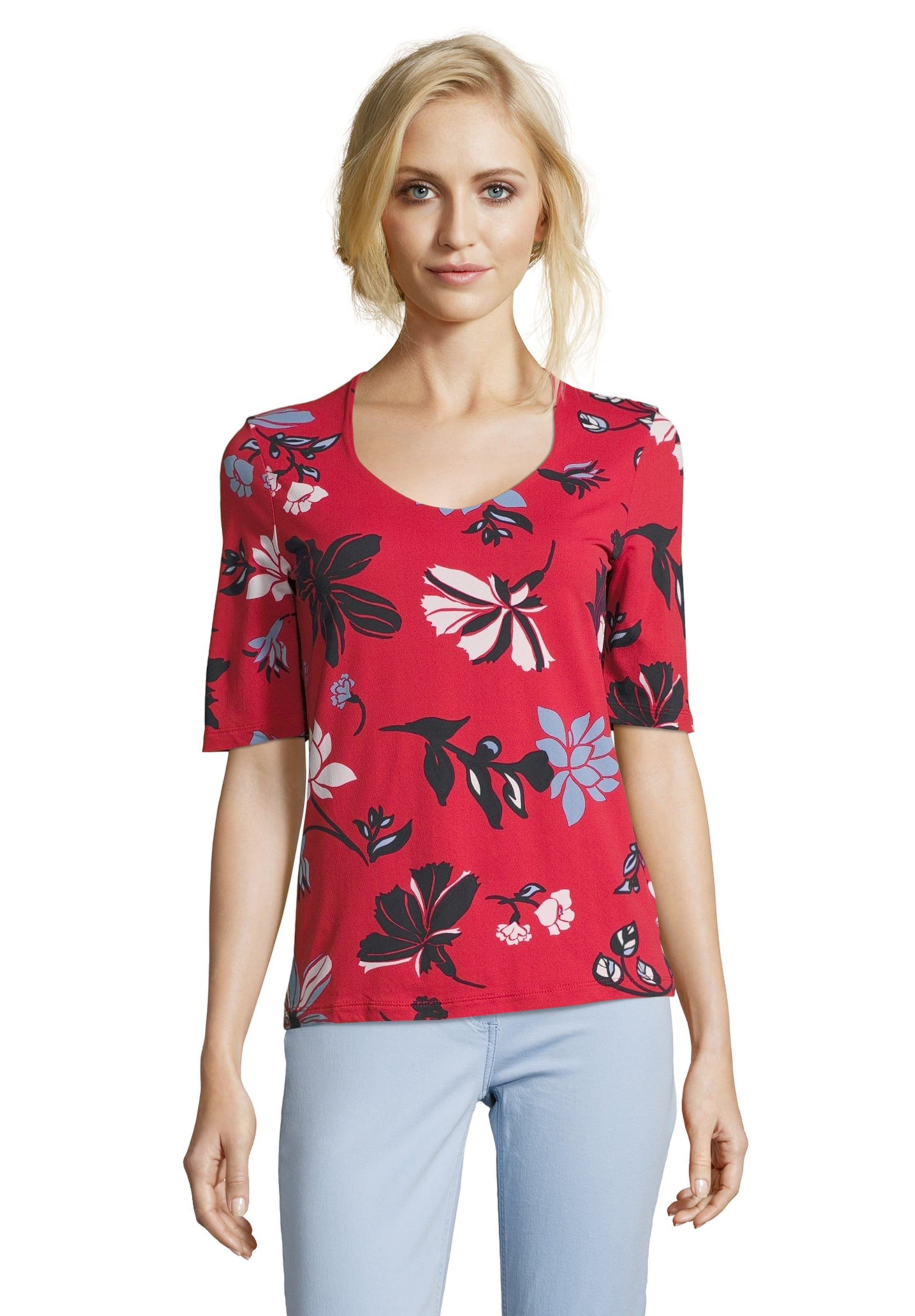 Shirt In MischfarbenRot Betty Barclay WY29IEDH