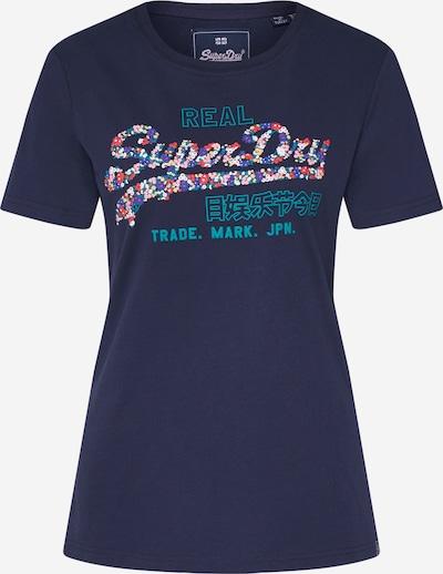 tengerészkék Superdry Póló, Termék nézet