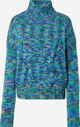 2NDDAY Pullover 'Johnny' in blau / mischfarben, Produktansicht