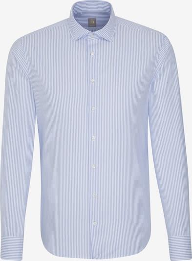 Jacques Britt Hemd 'Perfect Fit' in blau / weiß, Produktansicht
