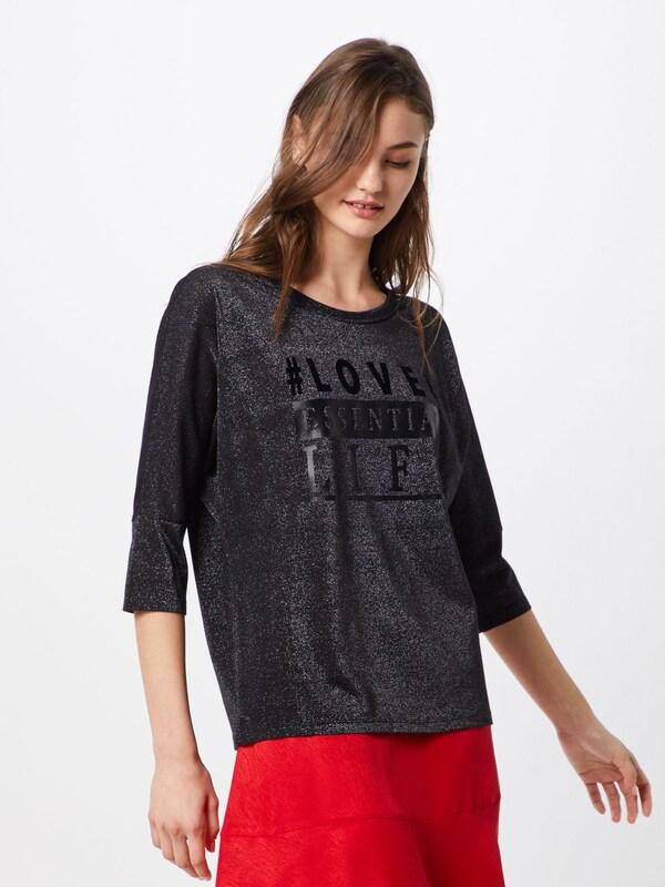 Monari Oversize En shirt Noir T fI6gvmyYb7