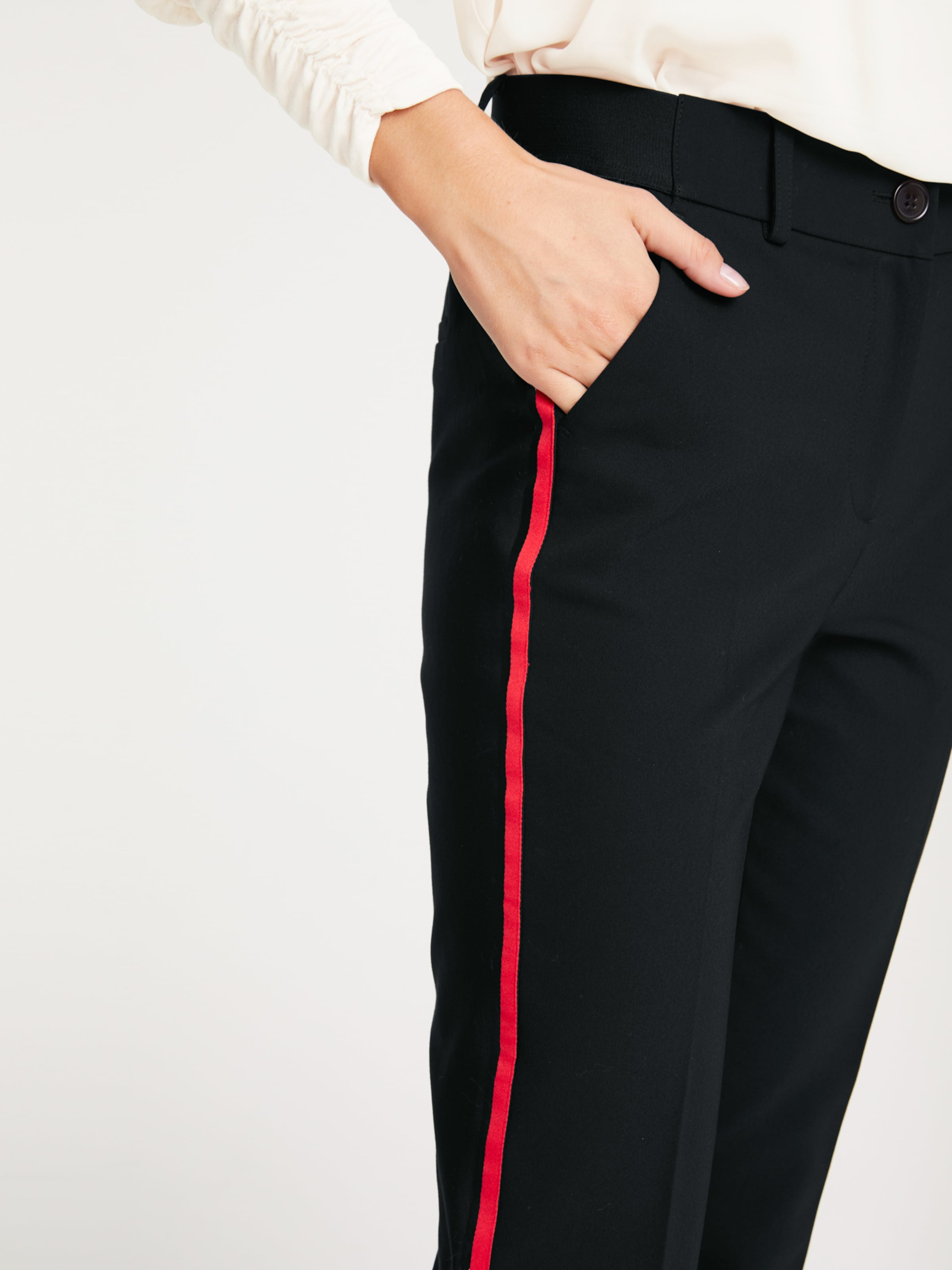 heine Pantalon Calea en noir 7NCyRi