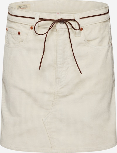 LEVI'S Rok 'HR DECON ICONIC SKIRT' in de kleur Wit, Productweergave