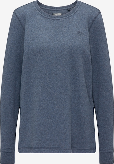 DREIMASTER Sweatshirt in blaumeliert, Produktansicht