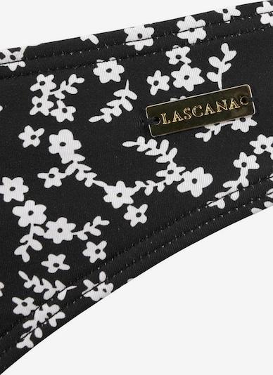 LASCANA Spodní díl plavek 'Meadow' - černá / bílá, Produkt