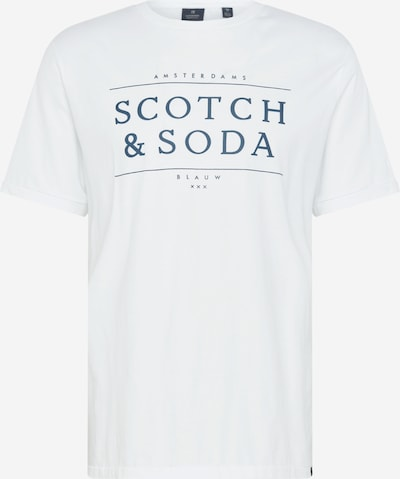 SCOTCH & SODA Shirt in navy / offwhite, Produktansicht