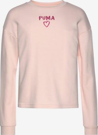PUMA Sweatshirt 'Alpha Crew' in rosa, Produktansicht