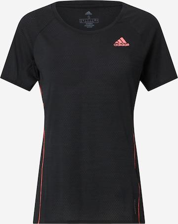 ADIDAS PERFORMANCE T-Shirt 'Runner' in Schwarz