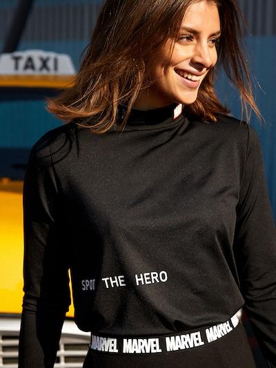 ABOUT YOU x MARVEL T-Krekls 'Leia' pieejami melns: Priekšējais skats