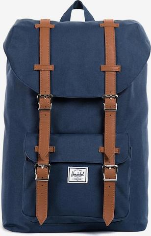 Herschel Backpack 'Little America' in Blue