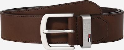 Tommy Jeans Opasek 'Buckle 4.0' - tmavě hnědá, Produkt