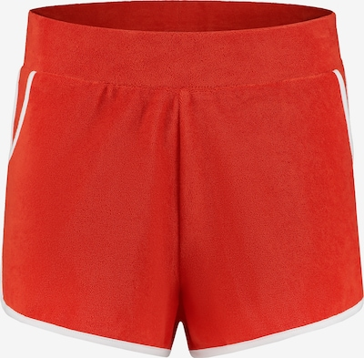 Shiwi Badeshorts 'Ladies terry short' in rot: Frontalansicht