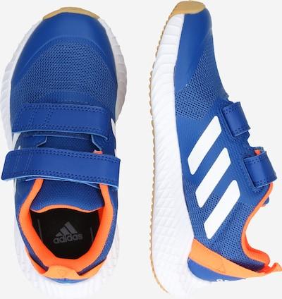 Pantofi sport 'FortaGym CF K' ADIDAS PERFORMANCE pe albastru / portocaliu: Privire laterală