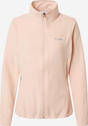 COLUMBIA Functionele fleece jas in de kleur Lichtgrijs / Perzik, Productweergave