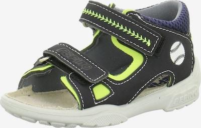 RICOSTA Sandalen in blau / neongrün, Produktansicht