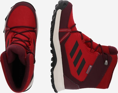 ADIDAS PERFORMANCE Boots 'TERREX SNOW' in rot / weinrot: Seitenansicht