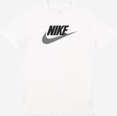 Nike Sportswear T-Krekls 'B NSW TEE FUTURA TD' balts, Preces skats