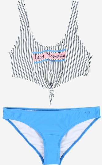 PROTEST Bikini sportowe 'WAFFLE' w kolorze niebieski / białym, Podgląd produktu