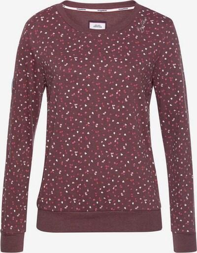 KangaROOS Sweatshirt in mischfarben / pastellrot, Produktansicht