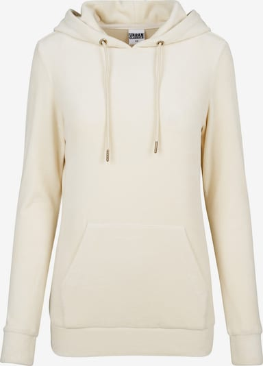 Urban Classics Hoody 'Velvet' in beige, Produktansicht