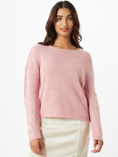ONLY Pullover 'Lexi' in rosa: Frontalansicht