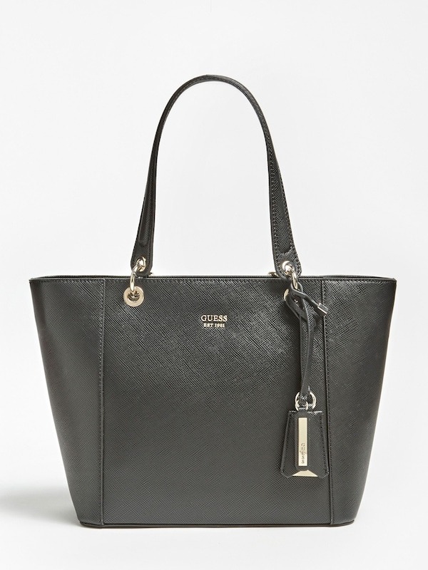 GUESS Shopper 'Kamryn' in schwarz: Frontalansicht