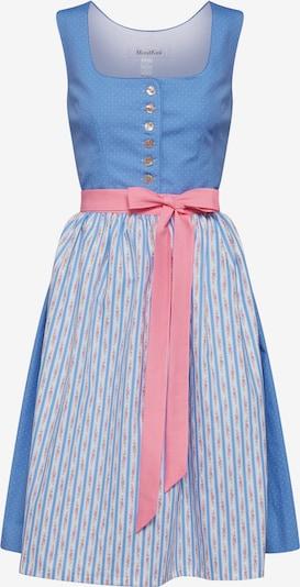 MONDKINI Kleid 'Dirndl Donau' in blau, Produktansicht