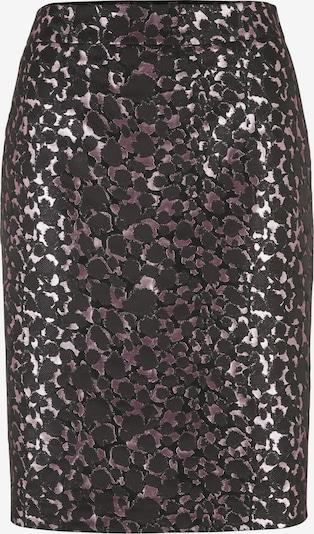heine Rock in rosa / burgunder / schwarz, Produktansicht