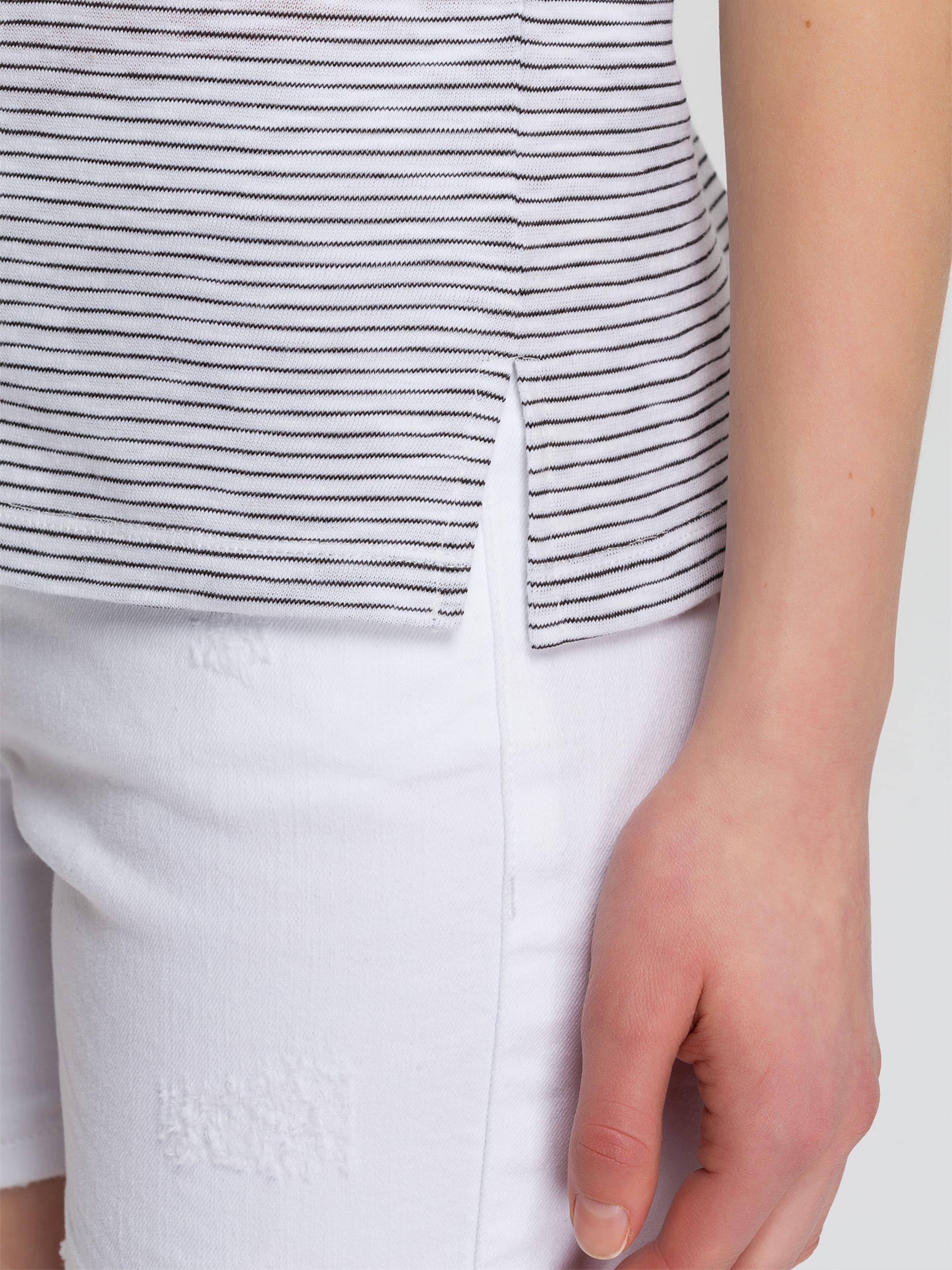 ' In Shirt BlauWeiß 55380 Jeans Cross 5jqL4RA3