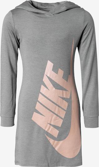 Nike Sportswear Kleid 'Futura' in grau / pfirsich, Produktansicht