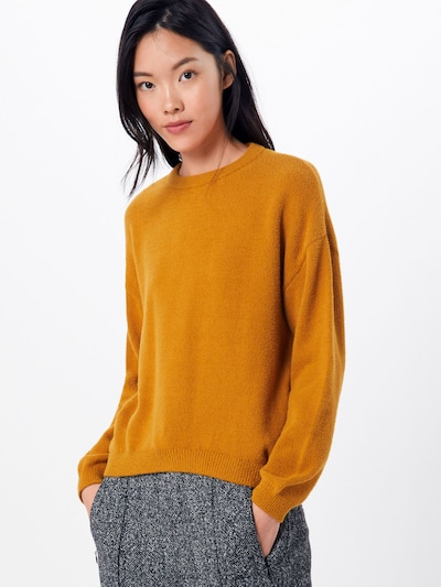 OBJECT Pullover 'HARLOW EVELYN' in rostbraun: Frontalansicht