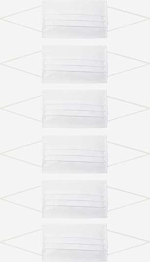 EKN Footwear Stoffen mondkapje in de kleur Wit, Productweergave