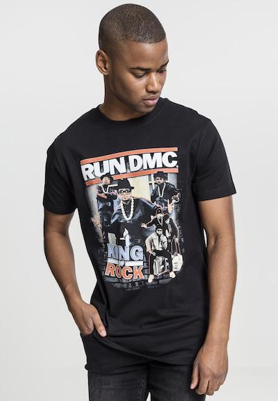 Mister Tee T-Shirt 'Run DMC King of Rock' in mischfarben / schwarz: Frontalansicht