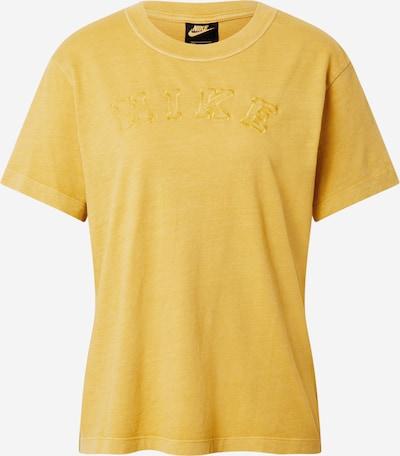 Nike Sportswear T-Shirt in gelbmeliert, Produktansicht