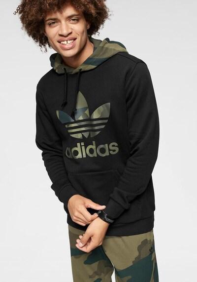 ADIDAS ORIGINALS Sweatshirt 'Camo Oth' in khaki / oliv / schwarz: Frontalansicht