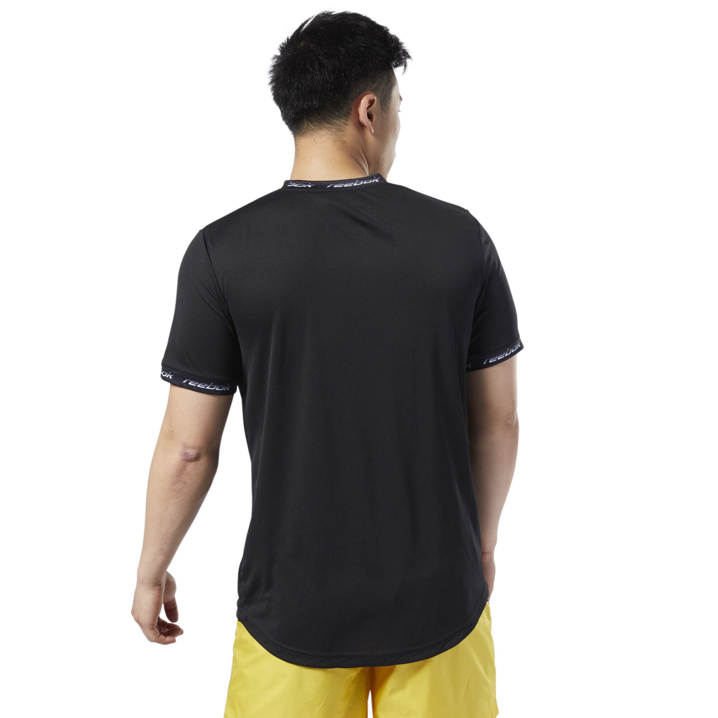 Schwarz T shirt Classic Reebok In iZOXuPk