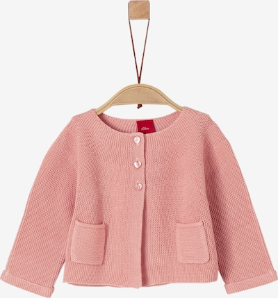 s.Oliver Junior Strickjacke in rosa, Produktansicht