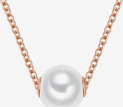 Valero Pearls Silberkette in rosegold, Produktansicht